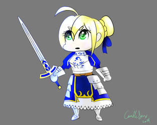 Arturia Pendragon by candlesnax