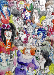 Melting Pot of Misfits by DapanChan