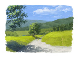 Krajobraz by lisiCat