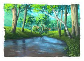 Brook by lisiCat