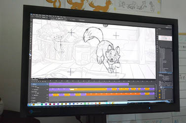 Work on animation by lisiCat