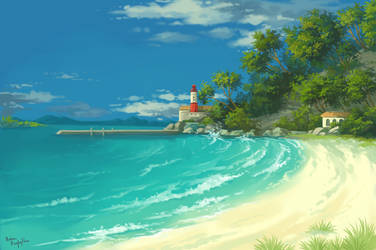 Coast by lisiCat