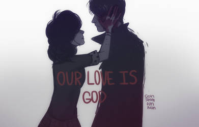 our love is god by Karoline-13