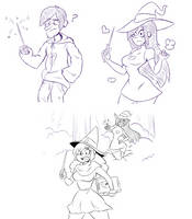 Gravitty Falls TG AP - Witchery by TheMightFenek