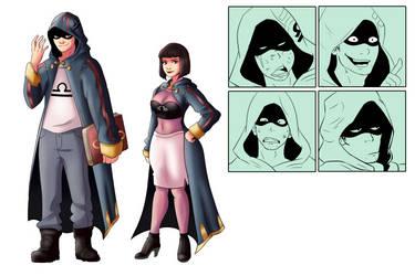 Hero(?) - Character Sheet by TheMightFenek