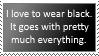 Gotta Love Black Clothing! by spongefan257