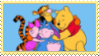 Pooh And Friends Stamp by spongefan257