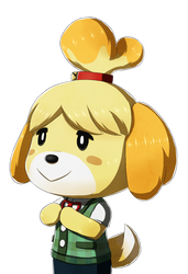Isabelle - Fire Emblem Fates Styled by CosmikArts