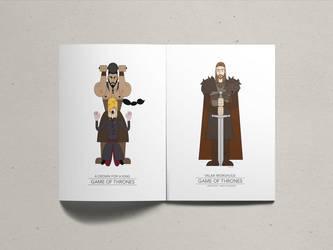 Game of Thrones Ned Stark by james21haydeashyde