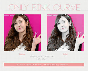 Only Pink Curve | Photoscape by AlleakiMikaela