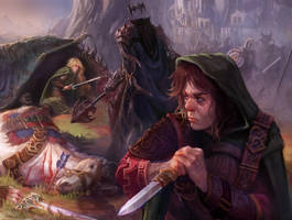 Eowyn vs The Nazgul by CarmenSinek