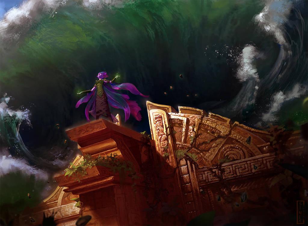 Crashing Tide by CarmenSinek