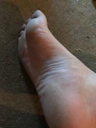 My foot by cap1483