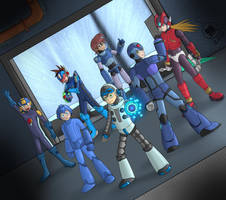 Megaman! Our Future is in your hands! by Shadowbomb