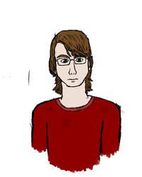 Self Portrait by FuhrerVonZephyr