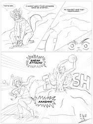 Snowball Fight by FuhrerVonZephyr