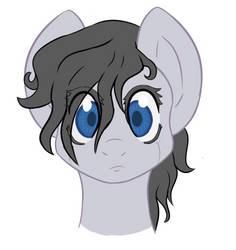 Eve the Robo Pony by FuhrerVonZephyr
