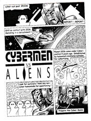 Cybermen vs Aliens by Snake-Artist