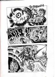 Cybermen vs Aliens page 8 by Snake-Artist