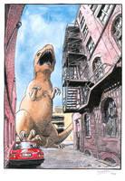 Dino alley by Snake-Artist