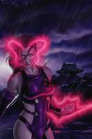 Psylocke by fernandogoni