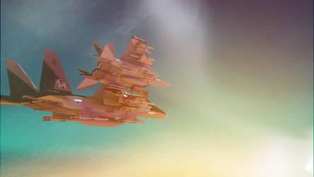 F-15 Eagle ADV by Swift207