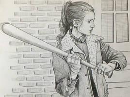 Stranger Things Nancy draw by ultraseven81