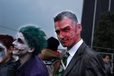 Joker and Harvey, Two Face ~ Batman by ducc89