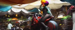 Chinatown Bikk by ultracold