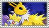 Pkmn Jolteon Stamp by vanilla-dog