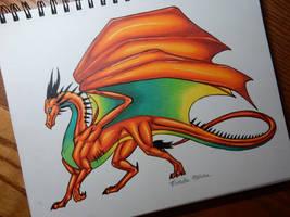 Terra the Dragon by DragonPhoenix159