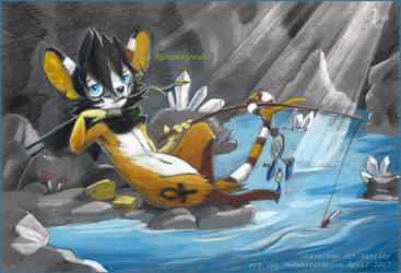 Fishing by DekabristMouse