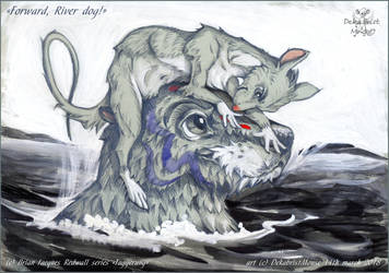 Forward river dog by DekabristMouse