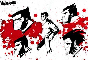 Wolverine v by IttoOgamy