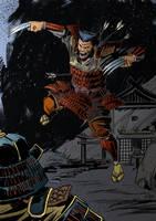 Wolverine Samurai 03 by IttoOgamy