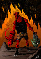 ...Hellboy by IttoOgamy