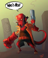 Hellboy ... by IttoOgamy