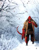 Hellboy13 by IttoOgamy