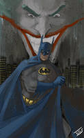 BATMAN...Joker by IttoOgamy