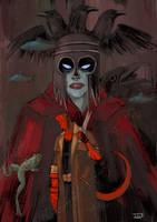 Hellboy...Blood Queen by IttoOgamy