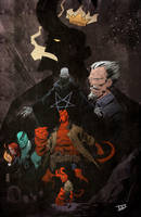 I just love Hellboy universe... by IttoOgamy