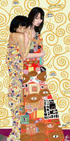 JustLove Klimt Homage by Elvyn