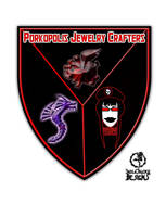 Porkopolis Jewelry Crafters Logo by GothicPrincess1974