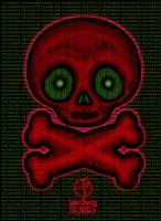 Digital Cute Skull by GothicPrincess1974