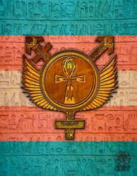 Egyptian Transgender Symbol by GothicPrincess1974