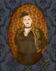 Aubrey Kelly Portrait 1 by GothicPrincess1974