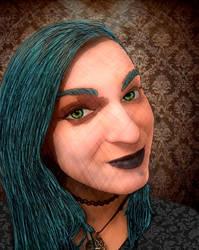 Portrait of Sasha by GothicPrincess1974