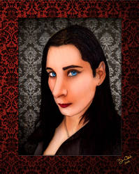 Portriat of Lana Heart by GothicPrincess1974