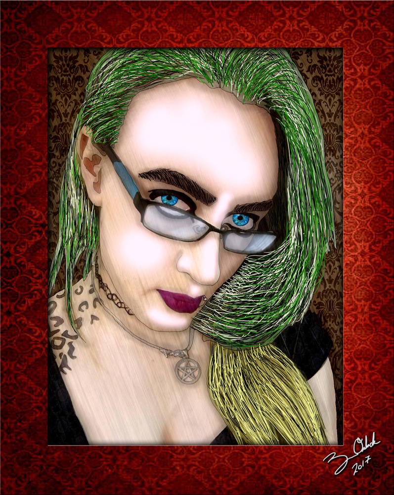 Portrait of Emily Valrite by GothicPrincess1974