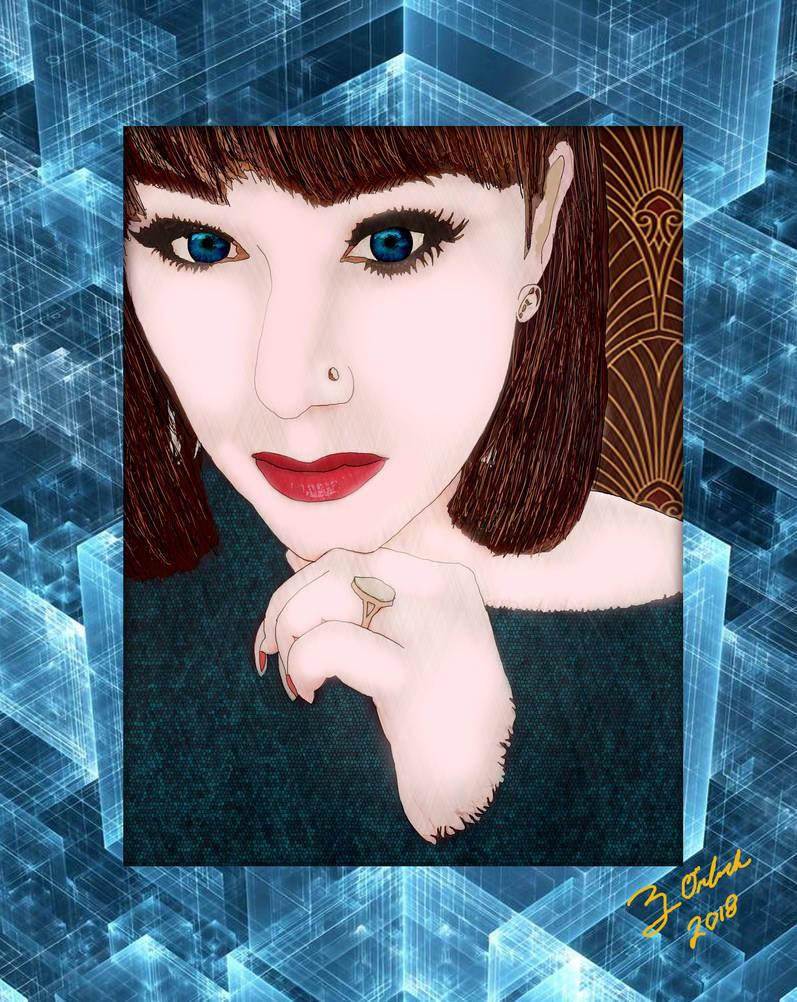 Portrait of Jerrika by GothicPrincess1974